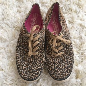 Leopard Keds sz 10